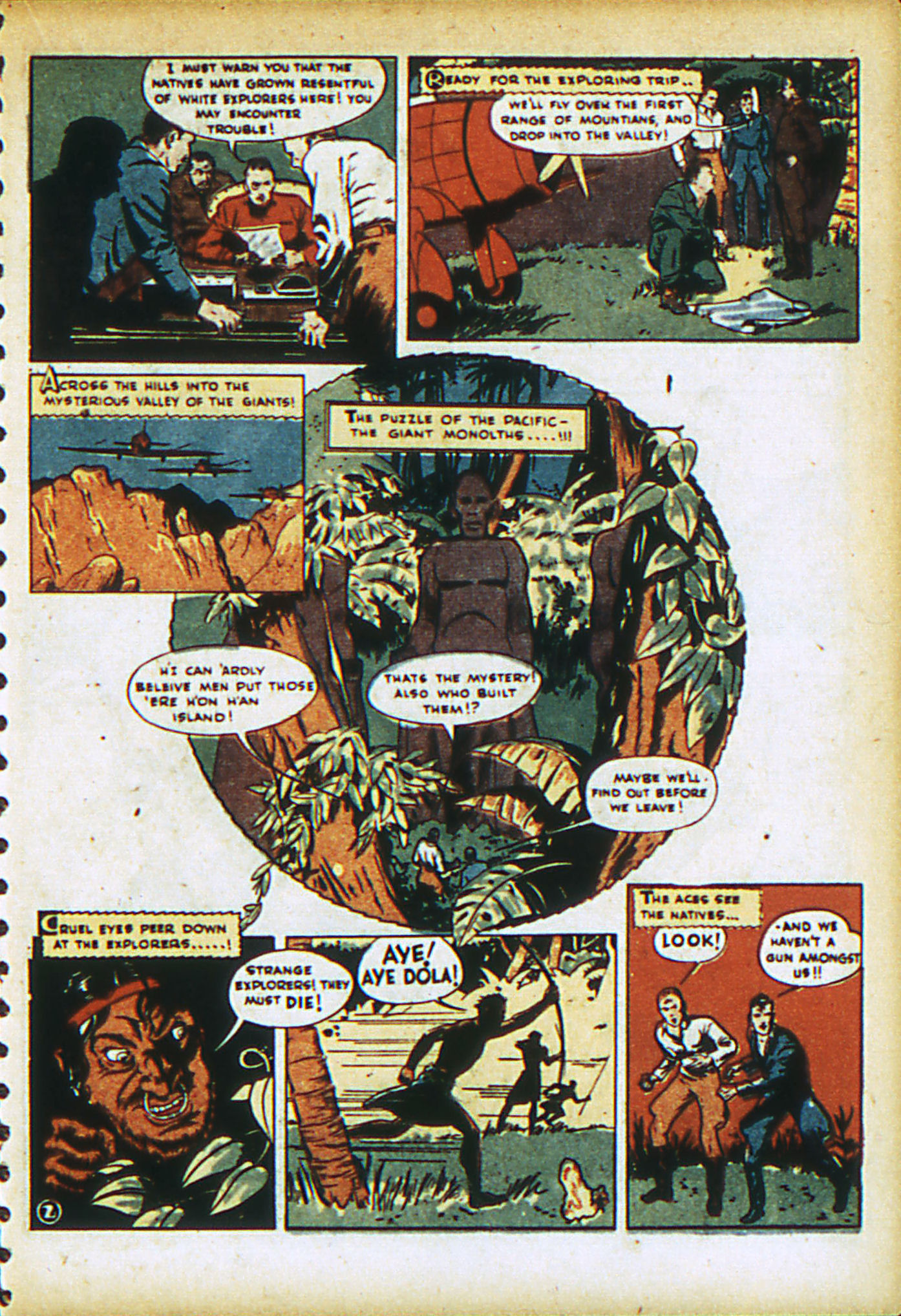 Read online Action Comics (1938) comic -  Issue #28 - 32