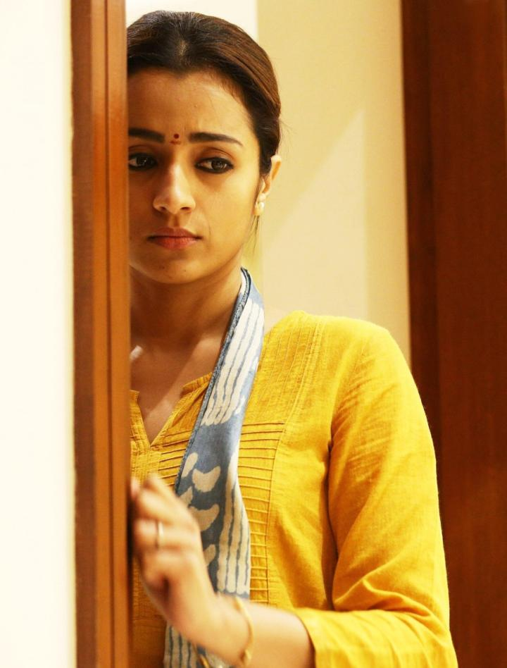 96 Tamil Movie Actress Trisha Hot Hd Photoshoot Stills Tollywood Stars