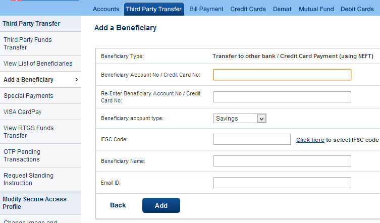 mobile net banking hdfc
