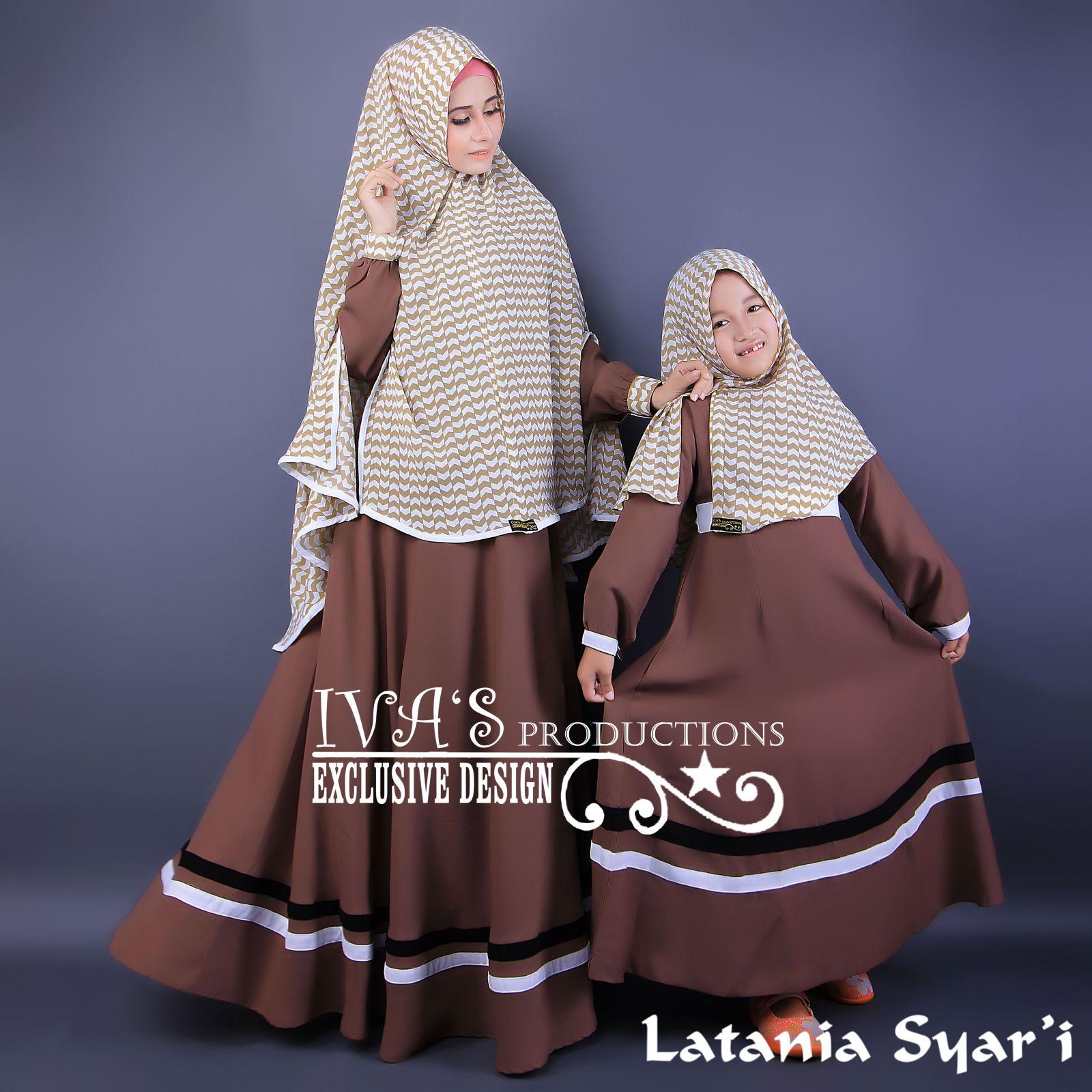 Jual Baju Hijab Couple Ibu Dan Anak Latania Mom And Kidz By Iva S