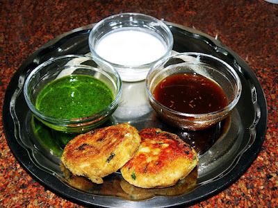 Aaloo Ki Tikiya (Potato Cutlets) Recipe