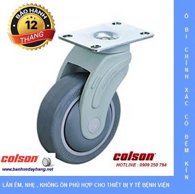 Bánh xe y tế xe cấp phát thuốc bệnh viện spa khách sạn Colson Mỹ www.banhxepu.net