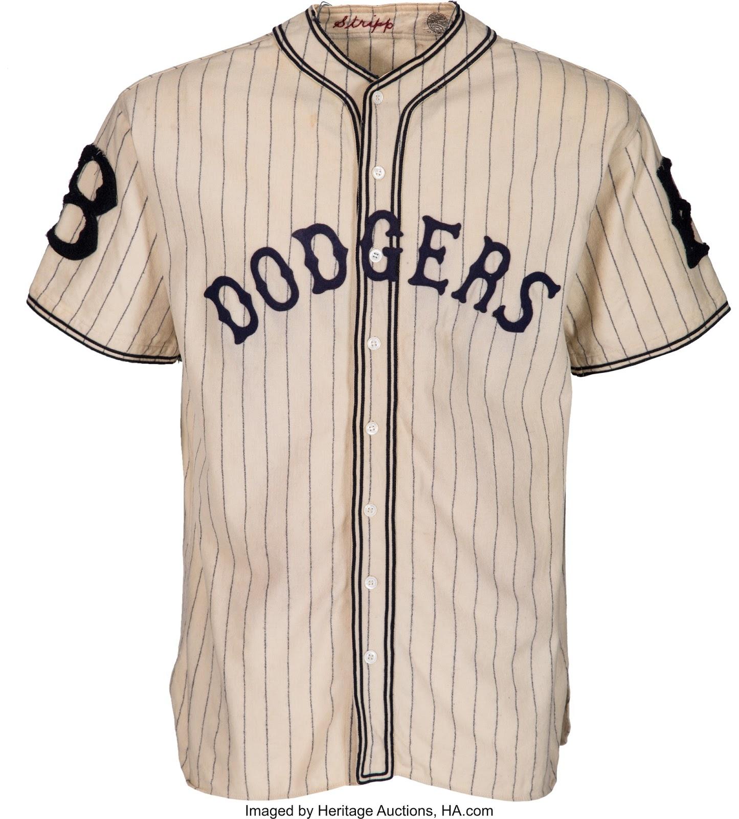 Dodgers Blue Heaven  Check Out this Vintage Dodger Pinstripes Uniform - 1933 c7e63a0b23c
