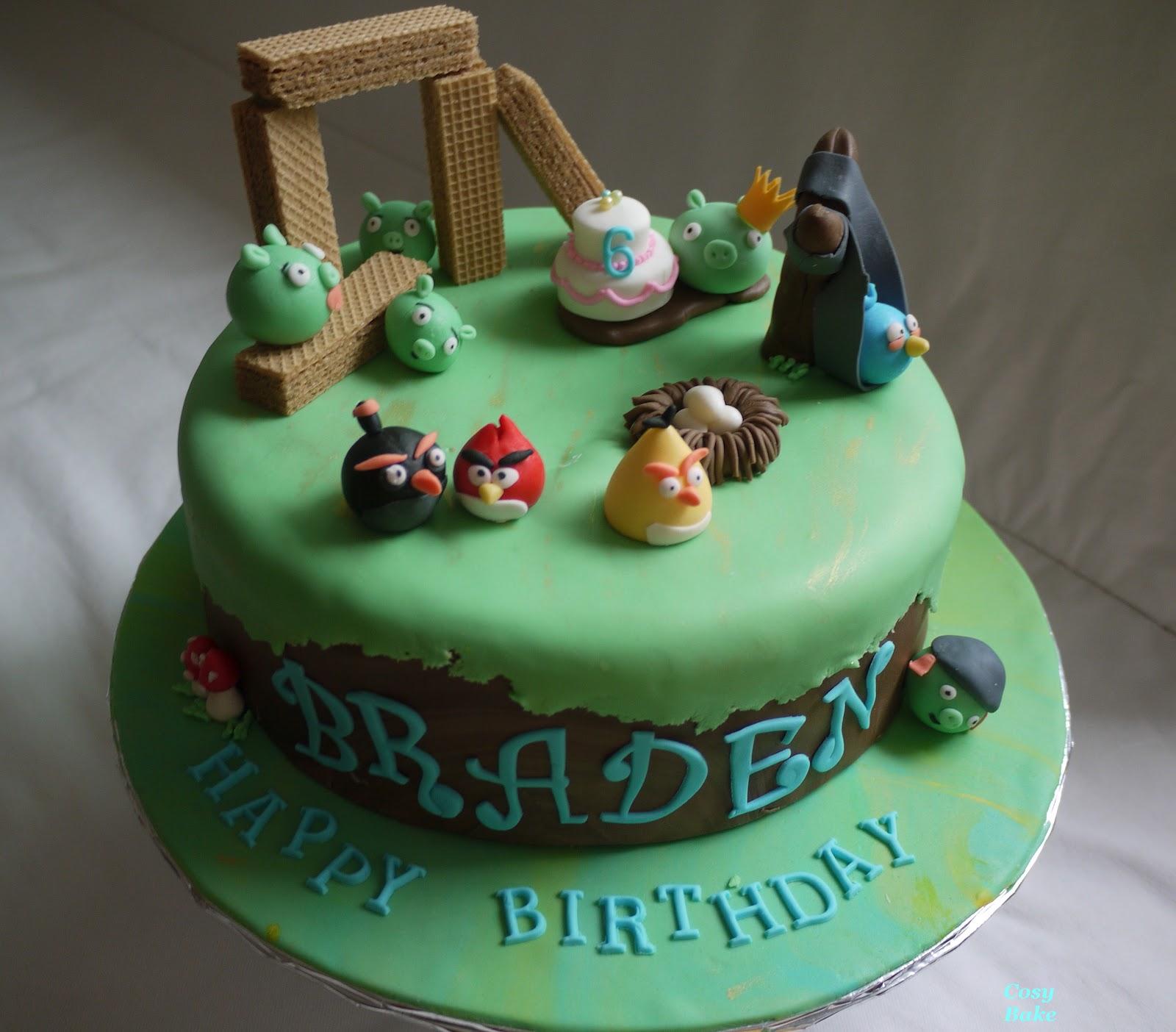 """Happy Birds Wish Braden """" Happy Birthday!"""""""