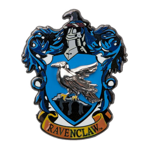 Harry Potter Movie Memorabilia: Ravenclaw Crest Pin on Pin