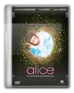 Alice e o Novo País das Maravilhas   DVDRip AVI Dual Áudio + RMVB Dublado
