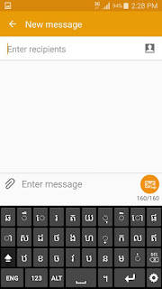Rom Samsung Galaxy Note 3 Neo LTE-A SM-N750K Menu Khmer