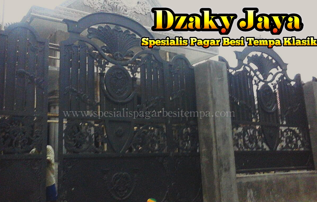 Harga Pagar Klasik Jakarta, Pagar Tempa Mewah Dan Sederhana, Pagar Antik