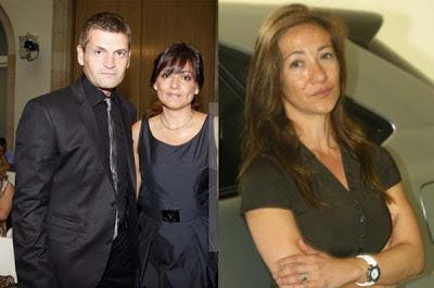 Tito Vilanova and Montse Enchaure
