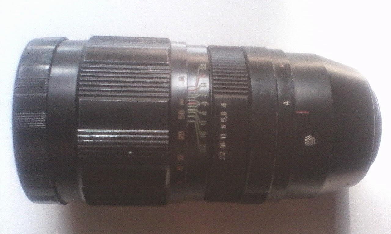 Jupiter 21m 200mm f/4 tengah