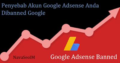 7 Penyebab Akun Google Adsense Anda Dibanned