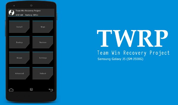 Cara Instal Recovery Twrp Di Samsung Galaxy J5- J500g Versi Terbaru 3.0.2.0