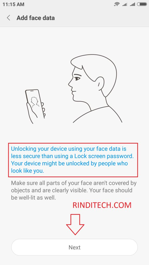 How to Use FACE ID Recognition on Xiaomi Phone (Face Unlock