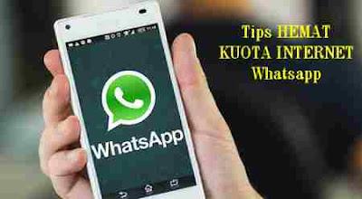 Cara Mudah Hemat Kuota Internet aplikasi Whatsapp