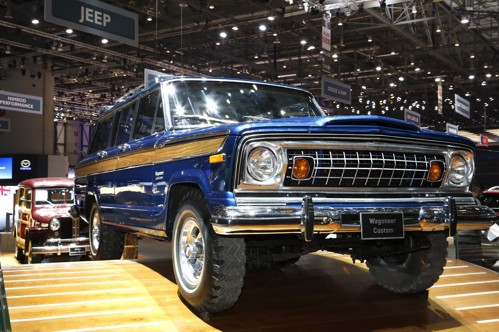 Old Porsche For Sale >> Classic Jeep Wagoneer Could Be Geneva's Coolest SUV
