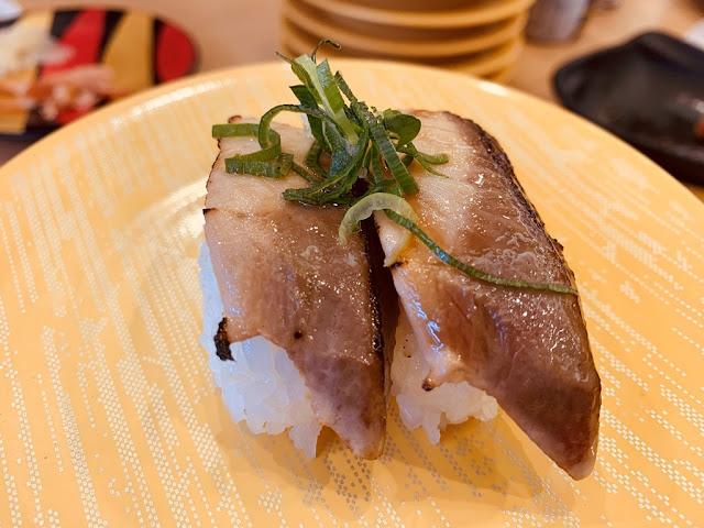 炙燒鯛魚握壽司