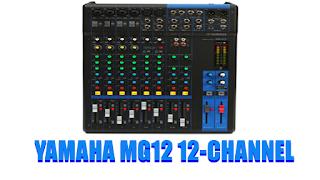 Spesifikasi Mixer Yamaha MG12 12 channel