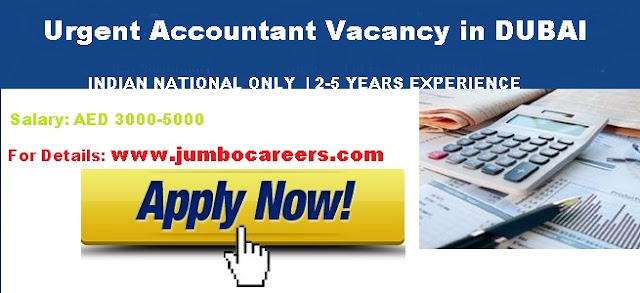indian accountant jobs in dubai,