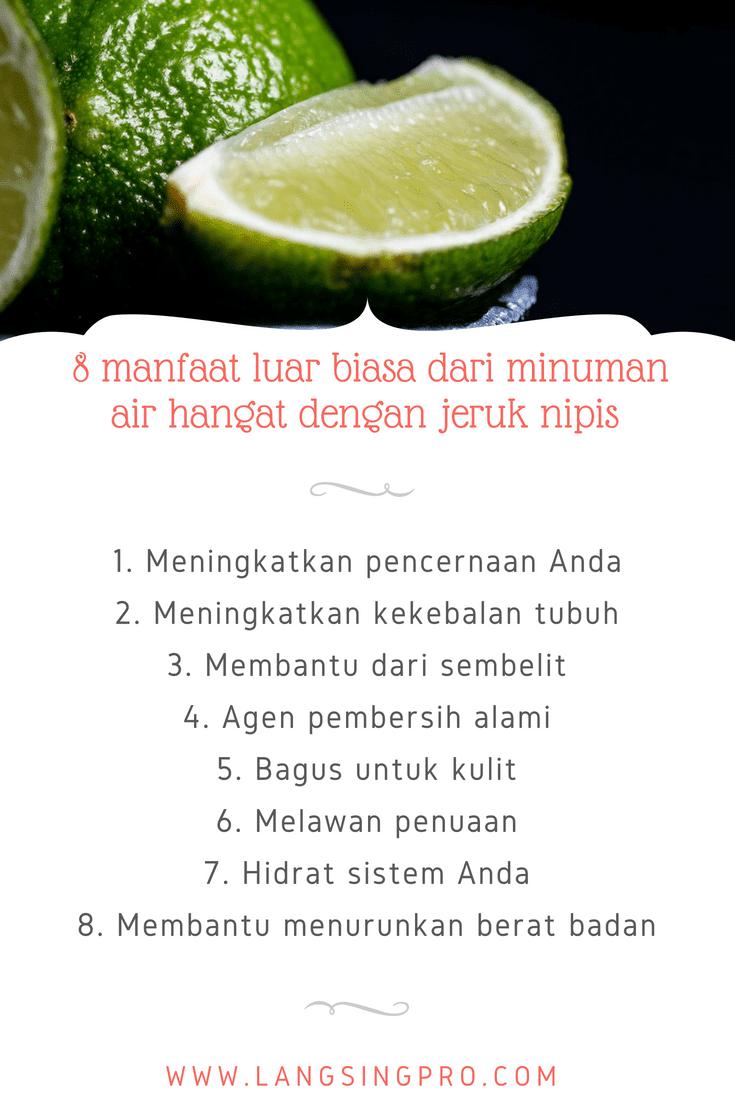 manfaat jeruk nipis untuk berat badan