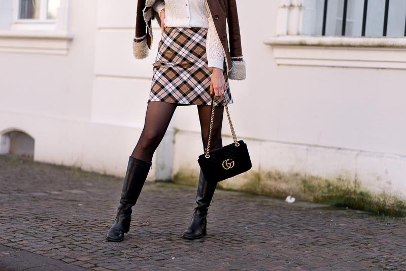 comment porter jupe en hiver