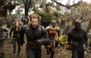 Escena de Vengadores: Infinity War