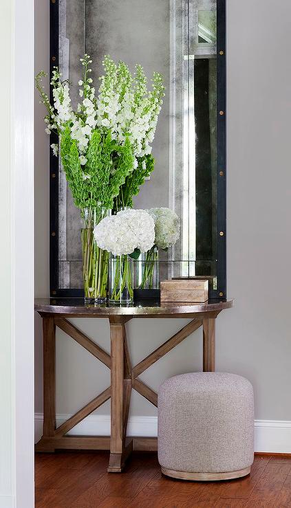 Foyer Table Flowers : South shore decorating awesome entrances