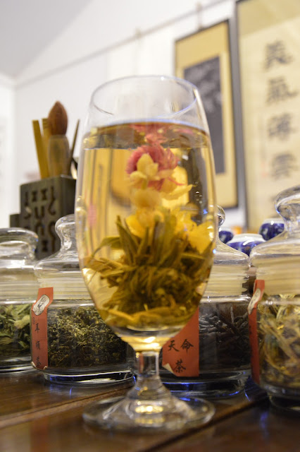 Thé à la fleur