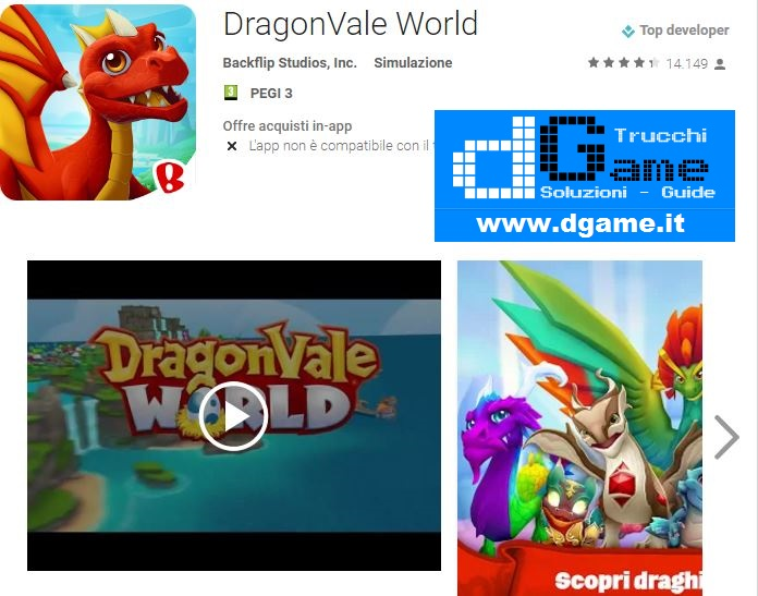 Trucchi DragonVale World Mod Apk Android v1.6.2