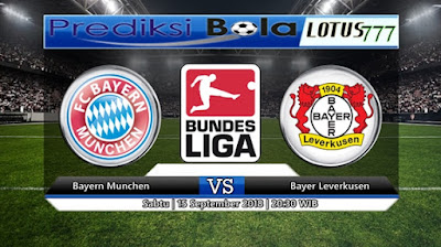 PREDIKSI BAYER MUNCHEN VS BAYER LEVERKUSEN 15 SEPTEMBER 2018