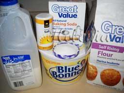 Масло сливочное - 2 столовые ложки; Яйцо - 1 штука; Сода - на кончике ножа; Соль - 1/4 чайной ложки;