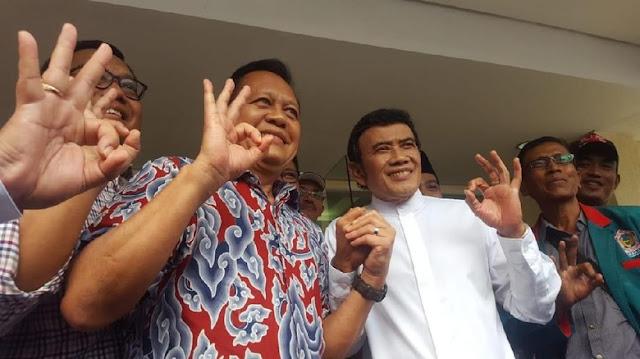 Sah! Raja Dangdut Rhoma Irama Dukung Asyik di Pilgub Jabar 2018