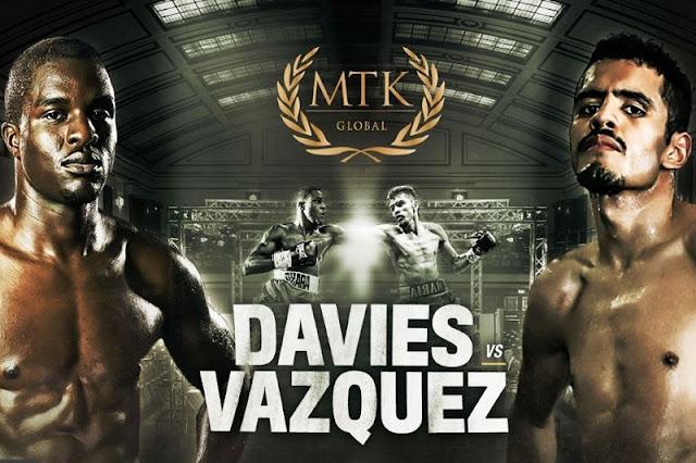 Ohara Davis Vs Miguel Vasquez Ohara Davies