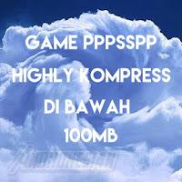 Kumpulan Game PPSSPP dI Bawah 100MB