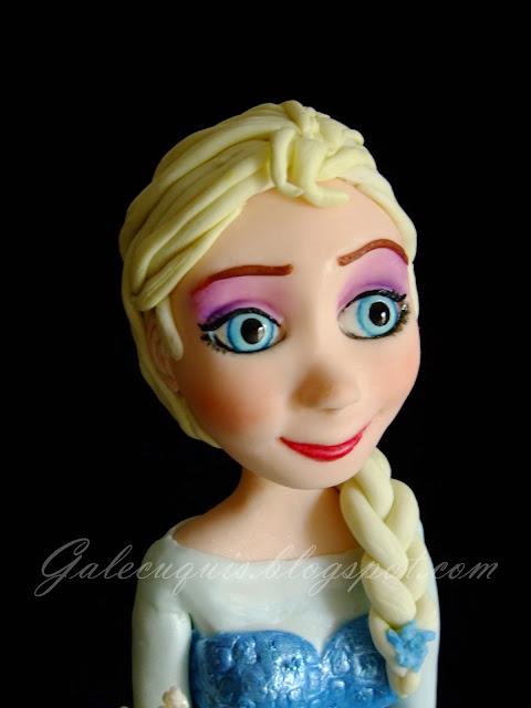 Princesa Elsa Frozen modelada