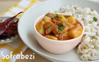 Etli Patates Yemegi