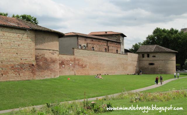 Antiguas murallas de Toulouse