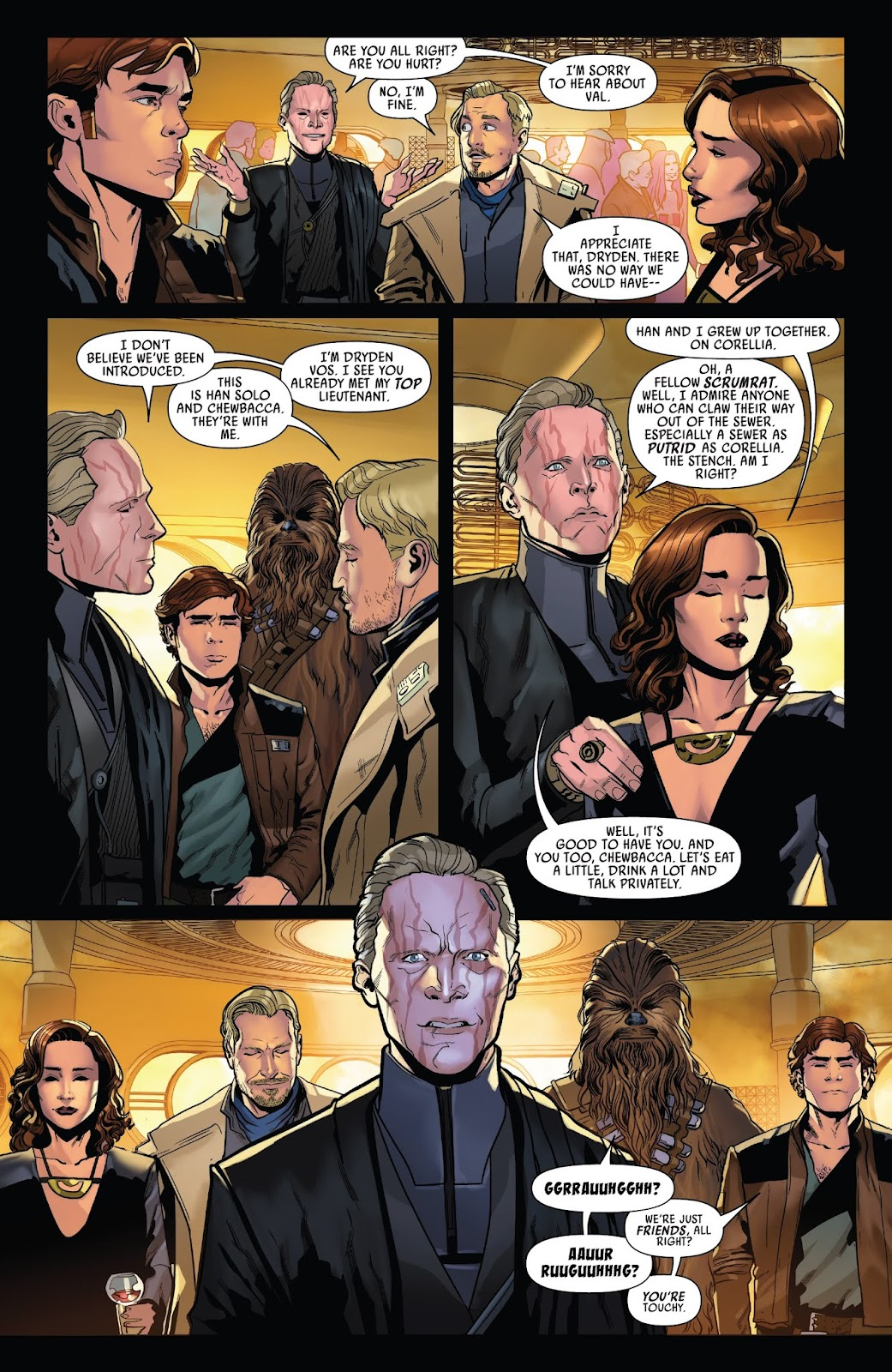 Read online Solo: A Star Wars Story Adaptation comic -  Issue #3 - 6