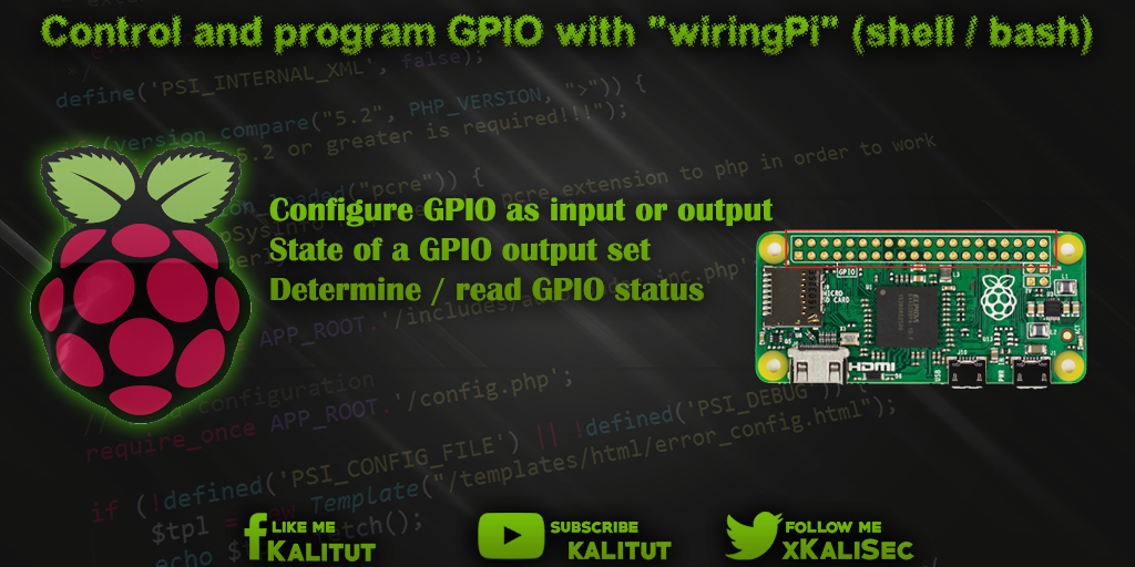 Groovy Raspberry Pi Control And Program Gpio With Wiringpi Kalitut Tutorial Wiring 101 Capemaxxcnl