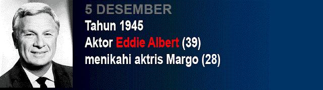Hari pernikahan Eddie Albert