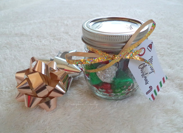 DIY Candy Gift Jar