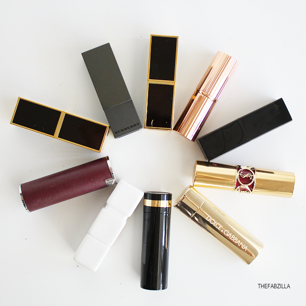 top 10 fall lipsticks, best fall lipsticks, tom ford moroccan rouge, tom ford black dahlia, burberry lip velvet oxblood, ysl forbidden burgundy, mars audacious domonique, charlotte tilbury night crimson, dolca and gabbana lipstick shine violet, guerlain kiss kiss wonder violette