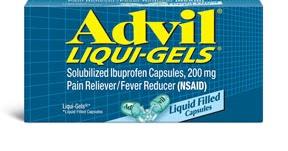 Advil Liqui Gels Medicinas Y Su Uso
