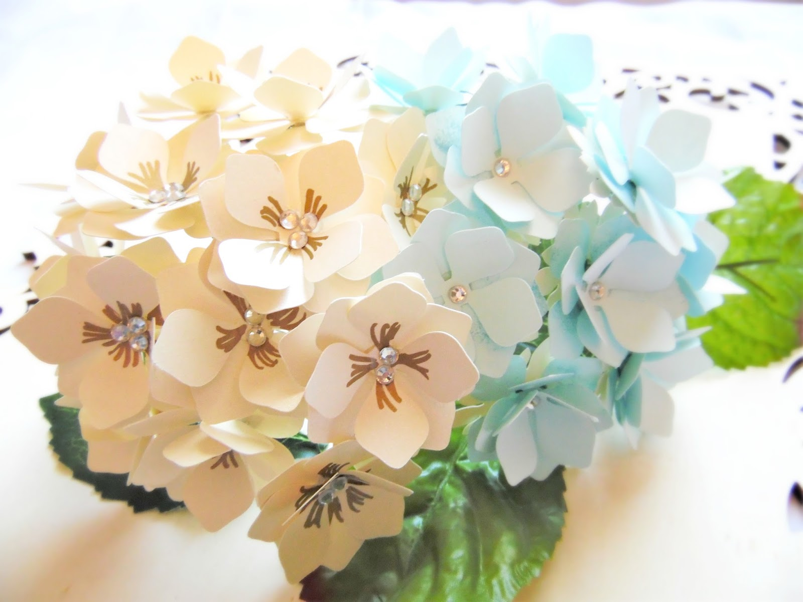 Paper Flower Hydrangeas Flower Templates Printable Patterns