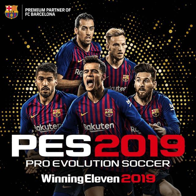 تحميل لعبه كره القدم PES 2019 PRO للموبايل مجانا 2019