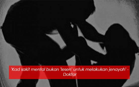 PESAKIT MENTAL BOLEH DI DAKWA BERSALAH WALAUPUN ADA KAD OKU