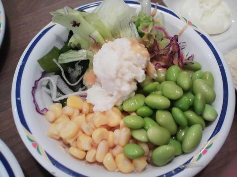 サラダ2 ステーキガスト一宮尾西店11回目