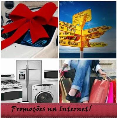 Promoções na Internet para ganhar prêmios!