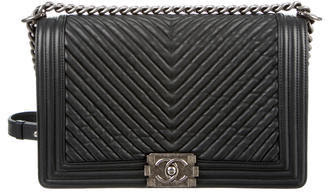 Chanel Medium Chevron New Boy Bag