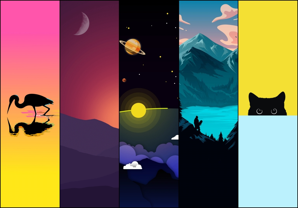 minimalist wallpaper collection
