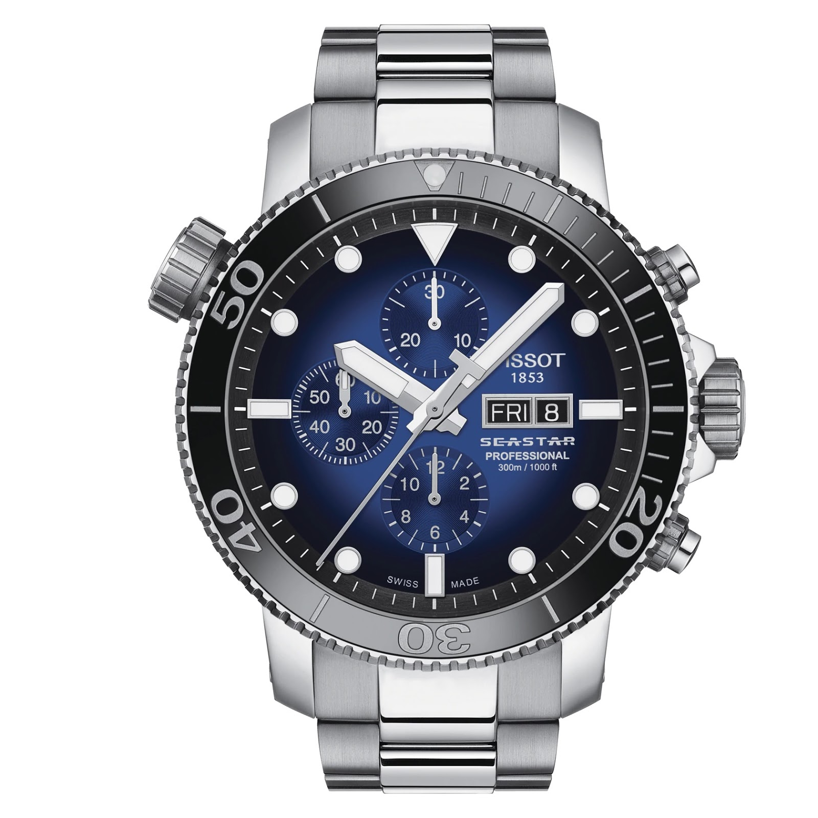 OceanicTime: TISSOT Seastar 1000 Professional LIMITED